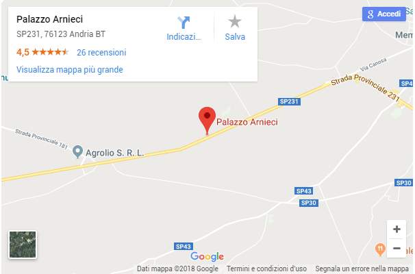 Dov'è Palazzo Arnieci